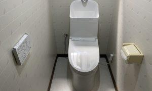 柏市 トイレ取替工事