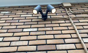 流山市外灯センサー取替工事
